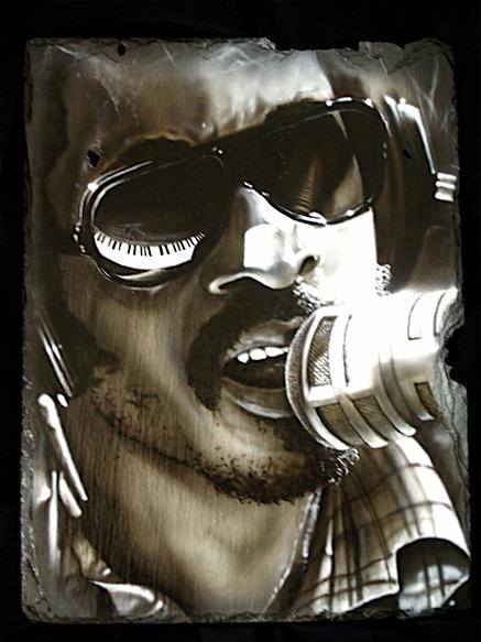 """Stevie Wonder"" by Dwayne D. Conrad"