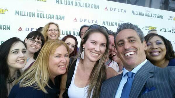 Selfie by none other than JB Bernstein