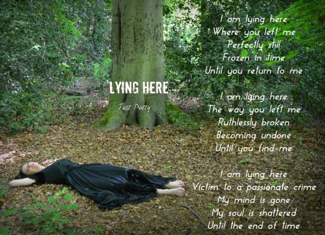 Lying here