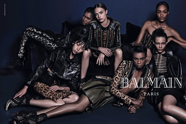 Balmain Fall/Winter 2014-2015 ad campaign